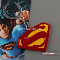 Christams 1pcs Free Shipping Marvel Super Hero Superman Logo Metal Keychain Pendant Key Chains ANPD1115 Christmas