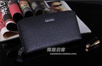 Free Shipping!2015New Brand Designer Genuine Leather Men Wallet Men's Wallets Male Money Bag Man Change Purse Phone Bag Clutch