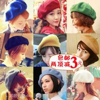 Autumn and winter vintage fashion Beret painter cap