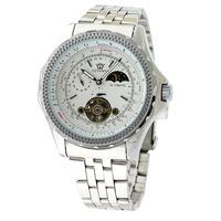 2014 New Fashion Brand  Men Full Steel Watch automatic mechnical Watch  Dress Watch business Casual Watch male clock