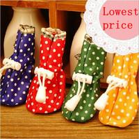Free Shipping 4pcs/set Pet Dog Shoes/Footwe Rain Boot Pet Products Waterproof Rain Shoes