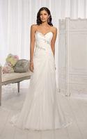 Chiffon grace bridal wedding formal dress custom size 6 8 10 12 14 16 18 20 22+
