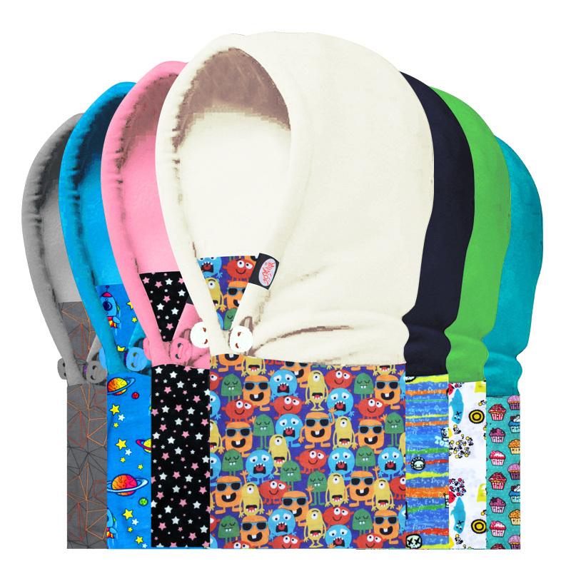 Kid Children Neck Warmer Hoods Ski Hat Winter Thermal Scarf Face CS Mask Balaclava Hat Free & Drop Shipping(China (Mainland))