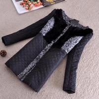 Free shipping !!! new fashion women long down brand jacket ,M-3XL,big size.rabbit  fur collar,Cebus apella female clothing 1288