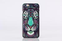 10pcs/lot anti- zero anti poeira fashion cartoon capa dura case For iphone 6 plus 5.5 inches luxury free shipping