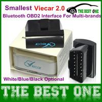 Viecar Plug and Play Auto Diagnostic Tool Works for Multi-brands with White/Blue/Black Optional ELM 327 Viecar 2.0 Bluetooth