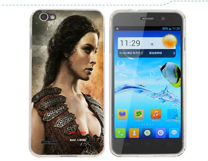 original jiayu g2 PVC case mtk6575 android phone 8MP free shipping jiayu g2 cover case(China (Mainland))