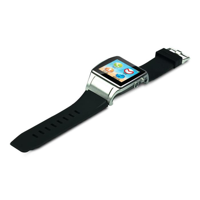 "2014 New Fashion P1s Smart GSM & Bluetooth Watch 1.55"" Mobile Phone Sport Watches 10pcs/L(China (Mainland))"