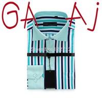 Free shipping famous brand men's shirts Slim casual men's striped shirt of high quality men's dress shirt long sleeve shirt WH