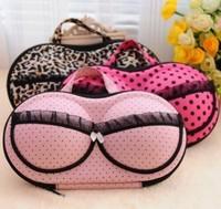 2014 new Travel must-have travel portable lingerie bra storage box fashion variety