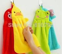 2Pcs New Cute Towel Animal Microfiber Kids Children Cartoon Absorbent Hand Dry Towel Lovely Towel For Kitchen Bathroom Use
