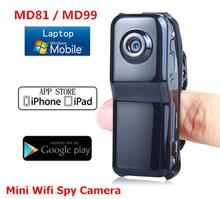 Mini camcorders Md81 Md99 WiFi camera mini dv dvr spy cam Hidden camcorder Video Record wifi hd mini camera Wireless IP Camera(China (Mainland))