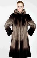 New 2014 Fashion Winter Coat women real natural Luxury Women mink fur coat special Design long Plus Size Women Faux fur coat