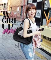 2014 new influx of European and American fashion ladies bag crocodile pattern handbag shoulder bag handbagsWL4012