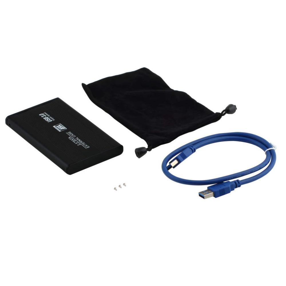 "High Quality 2.5"" USB 3.0 SATA External Hard Drive HD Enclosure/Case Free Shipping!(China (Mainland))"