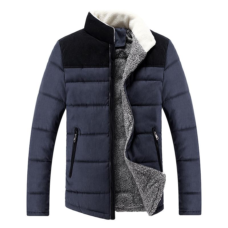 neue herbst und winter han Ausgabe mode lässig männer warm baumwolle mantel hochwertige pflegen die Moral herrenjacke 9810