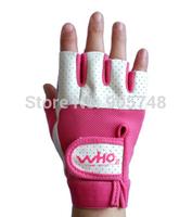 New Women  Weight Lift Gloves Fitness Equipment Dumbbell Barbell Comfortable Breathable Gloves Female Sport Gloves