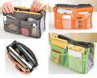 70355  Women Travel Insert Handbag Organiser Purse Large liner Organizer Tidy Bag Pouch