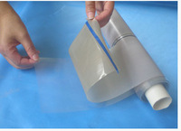 PTFE glass fiber tape with silicon film