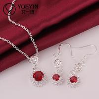 S695 2014 bulk sale cheap bridal party jewelry sets