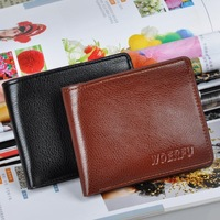 2014 high quality Short Wallet  Purse Wallet fashion leisure   wholesale cheap  men wallet zipper