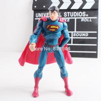 """DC Superhero Superman PVC Action Figure Collectible Toys 7"""" 18CM HRFG295"""