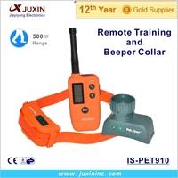 Dog training collar remote 500 M for hunting dog beeper collar