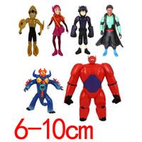 2014 new arrived Big Hero 6 Action firgure bjg hero toys 6pcs/set free shipping
