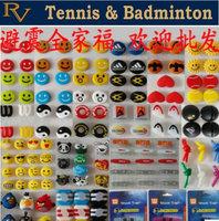 Free shipping - Brand New Tennis racket Vibration Dampers,Custom Dampener,Funny bird cartoon and animal  tennis accessories