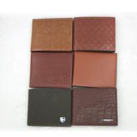 The new fashion men's brief paragraph purse crocodile leather wallet