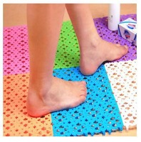 bath mat 4 piece/1 lot 20X30cm Non-slip PVC bath mat for Bathroom Toilet and Kitchen