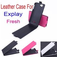 New Arrival Good Quality Flip Leather Case Cover For Explay Fresh Original Case Up and Down Cover Design Free ship