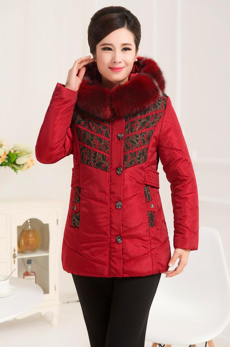 2014 Hot Selling Women Winter Fashion Md Long Slim Thick Luxury Fur ...