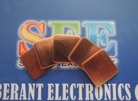 5pcs/Lot Heatsink Copper Pad 1.2mm*20mm*20mm Thermal Pad for GPU CPU