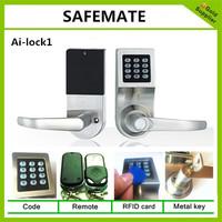 MC House use electronic keyless door lock /ship cost free