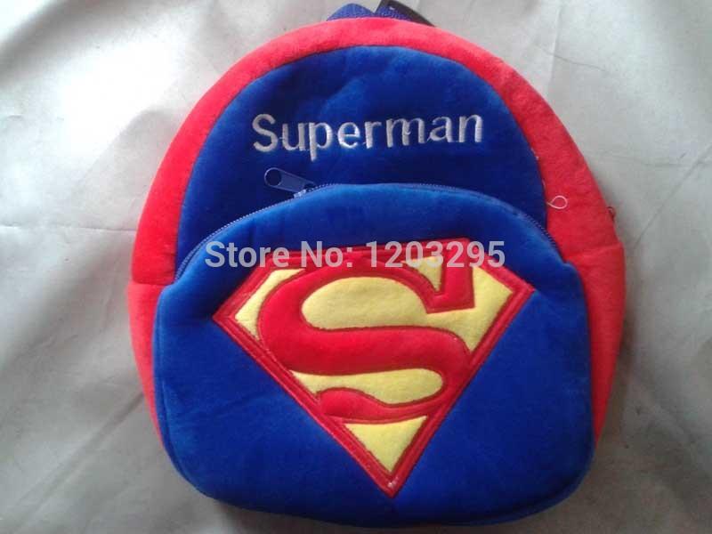 mochila de dise o ni os car cter juguete super hombre bolsas