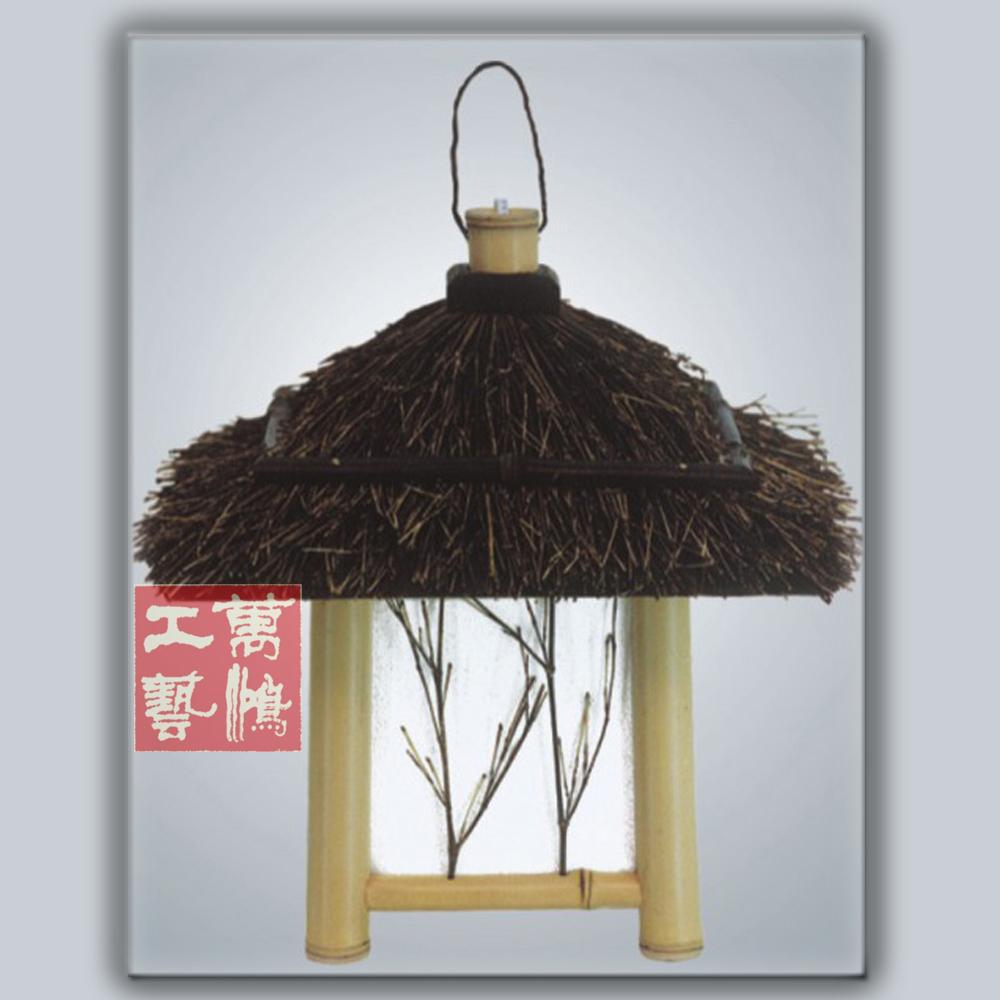 [ Manual ] Pak Wan Hung Chinese chandelier / handmade house type desk / bamboo lamp / Original Bamboo Lamp LT4-3(China (Mainland))