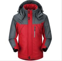 New 2014 Winter Men's Windproof Outdoor Clothing Thickening Warm Waterproof Down Jacket
