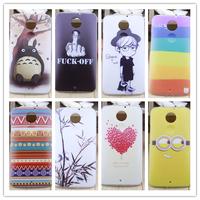 For Motorola Moto X+1 plastic cute cartoon case print drawings PC cover + gift