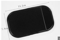Black Car Anti/Non-Slip Glass Dash Mat Pad For iPhone 4G 4S iPod Brand New
