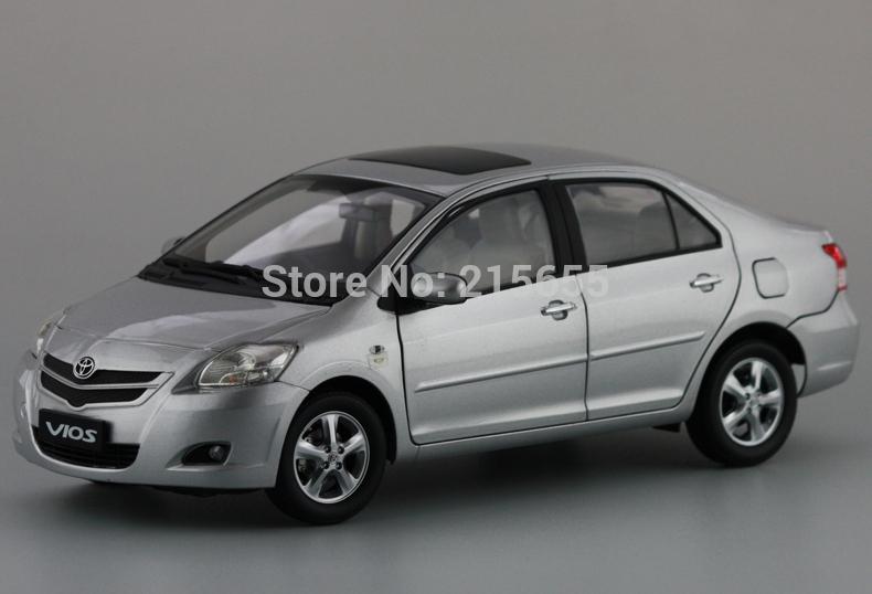ORIGINAL MODELS 1:18 Toyota New Vios 2008,SILVER(China (Mainland))