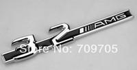 Metal 3.2 Mercedes AMG for C CL CLK C32 SLK32 E320 C320 S320 Emblem Badge Sticker