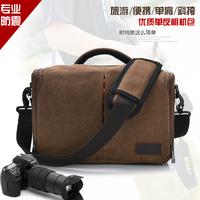 The new camera bag canvas bag Korean version of canvas messenger bag handbag  man shoulder bag free shipping outdoor recreation