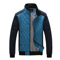 Autumn men's slim jacket outerwear men's clothing fashionable casual stand collar male jacket outerwear male top