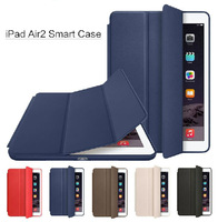 Ultra-Slim Thin Leather Smart Case Cover for Apple iPad Air 2 / 6th Generation Free shipping