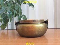 """2.25 """" tall Tibetan Buddhist bronze censer burner Incense & Incense Holders diameter 8 cm"""