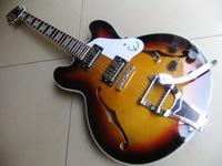 Wholesale - Free shipping Casino guitar with bigsby with hardcase 20110806