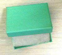 blue jewelry box or pouch fit bracelet necklace