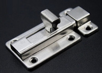 Stainless steel bathroom bolts,Door Bolt, Latch, Furniture fitting, hardware,