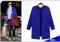 2015 New women coat casual jacket , women Long  Winter Jackets  free shipping